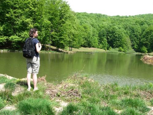 Ioana la lac