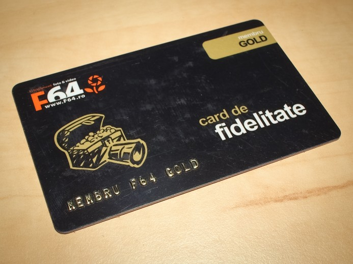 Card fidelitate f64.ro