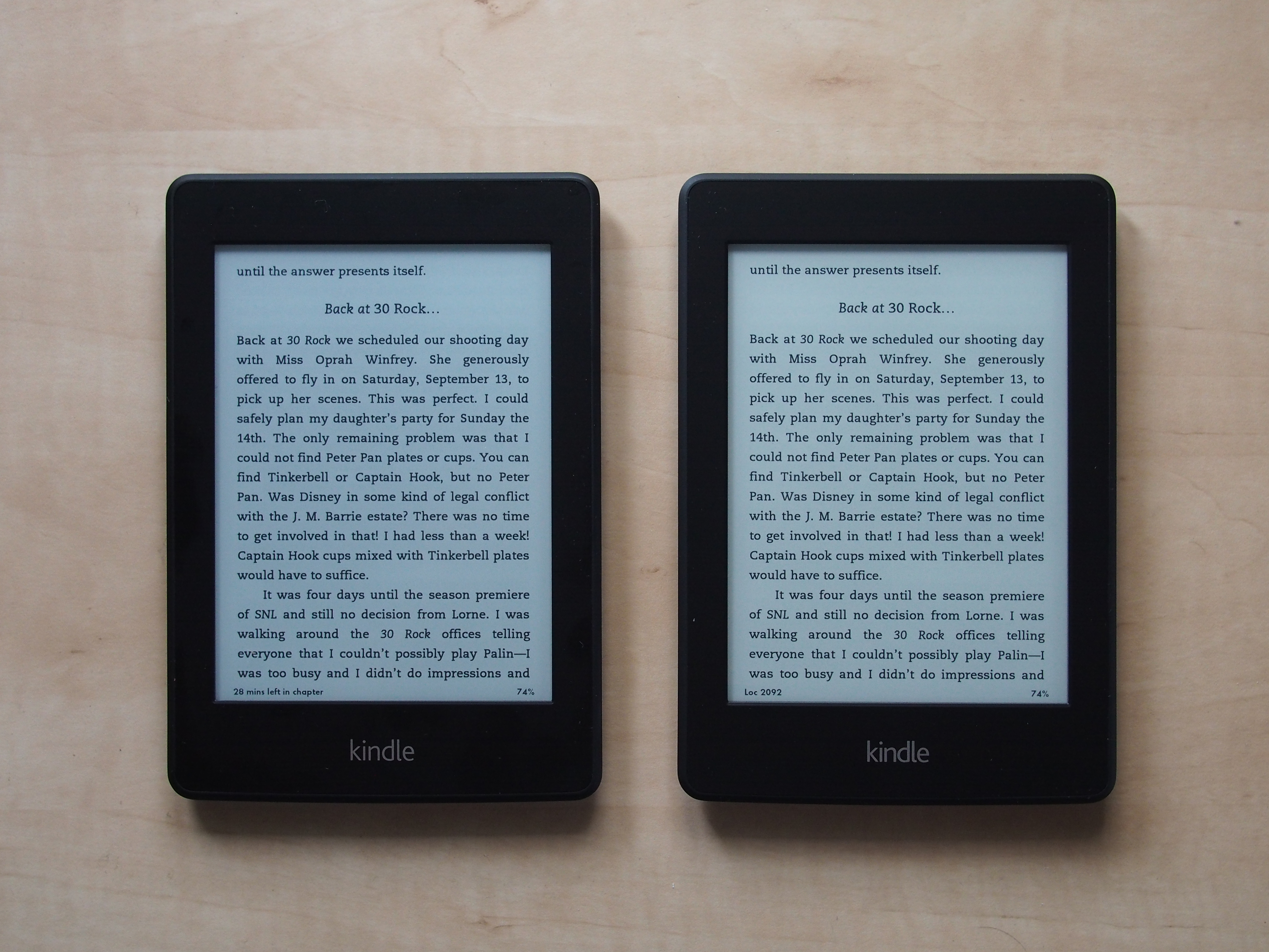 Kindle Paperwhite Differences Between First 2012 And