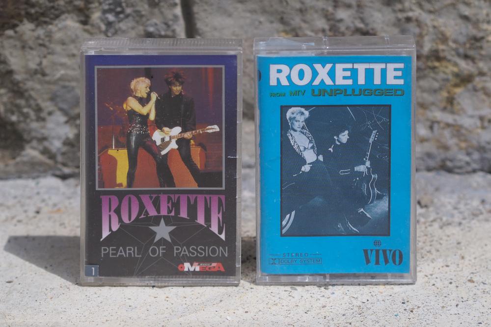 Casetă Roxette - Pearls of Passion și MTV Unplugged