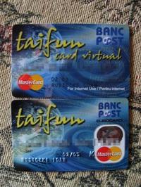 BancPost's Taifun Cards