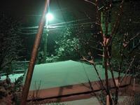 Snowing...