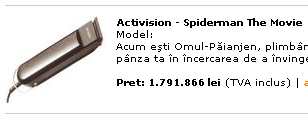 Spiderman?