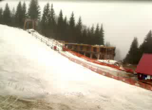 Webcam image of Roata slope at Cavnic (2008-04-07)